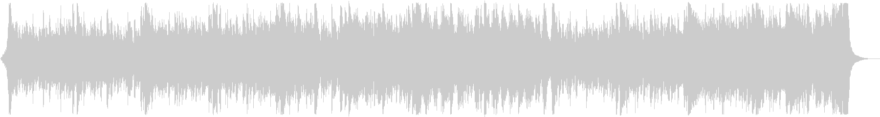 和風・和楽器・忍者エピック:三味線抜きの未再生の波形