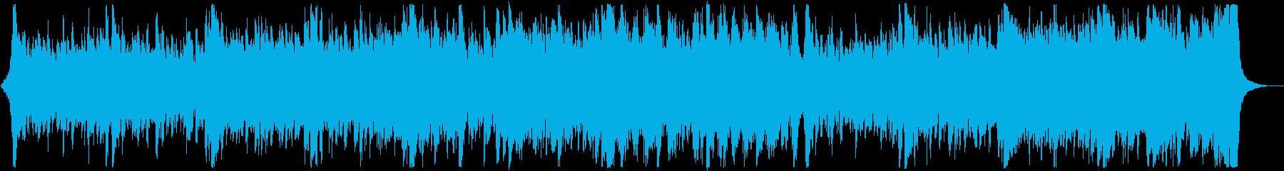 和風・和楽器・忍者エピック:三味線抜きの再生済みの波形