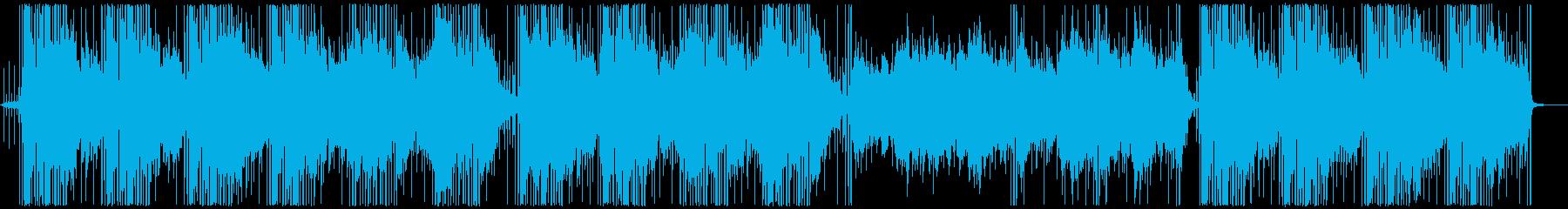 間、空気感、チル系ヒップホップの再生済みの波形