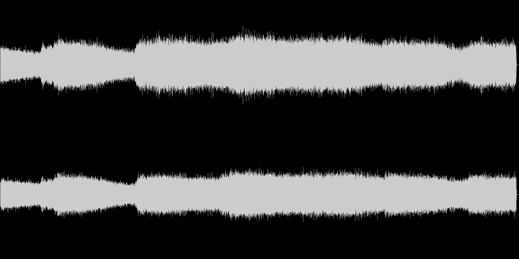 セミの鳴き声 04の未再生の波形