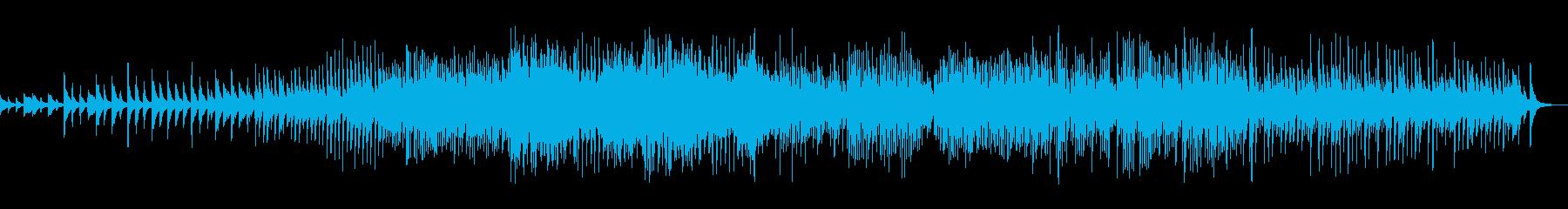琴が奏でる和風パッヘルベルのカノンの再生済みの波形