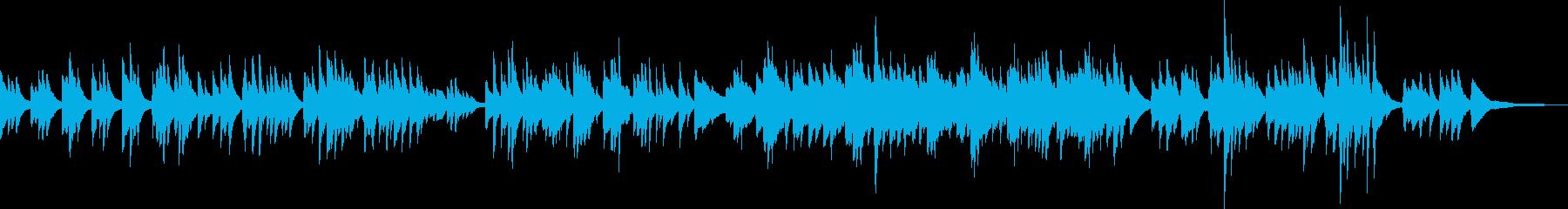 安心感のあるかわいいピアノ曲(キラキラ)の再生済みの波形
