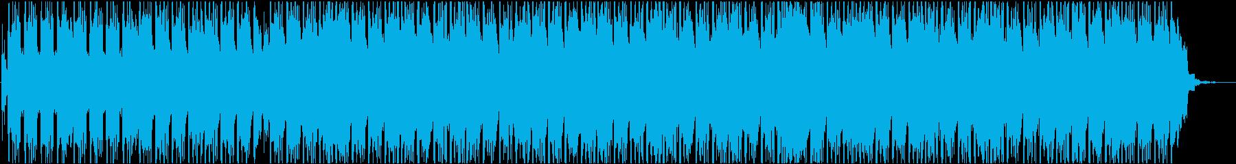 軽快なアコースティックエレクトロニカの再生済みの波形