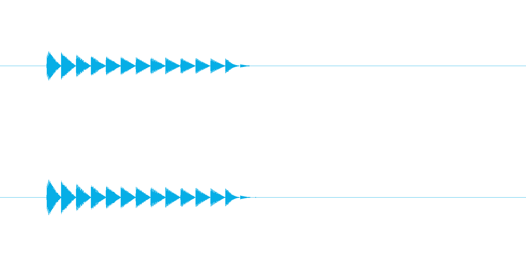 ブロック消滅(パズルゲーム)の再生済みの波形