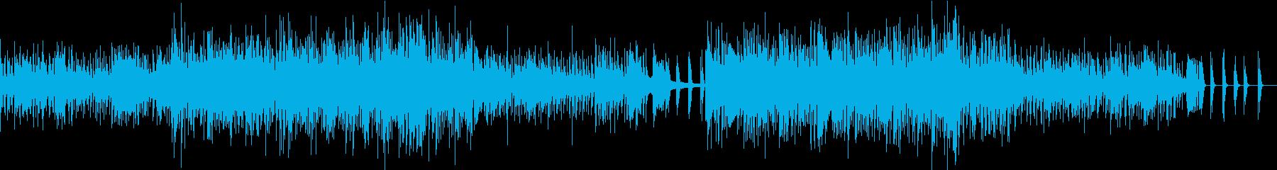 ゲーム向けアンダーグラウンド系BGMの再生済みの波形