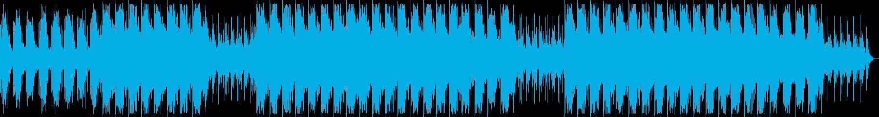幻想的でダークなBGM ロング・メロ無しの再生済みの波形