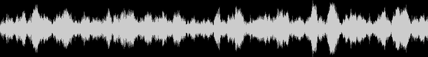 洞窟、不気味なサラウンド音(ループ仕様)の未再生の波形