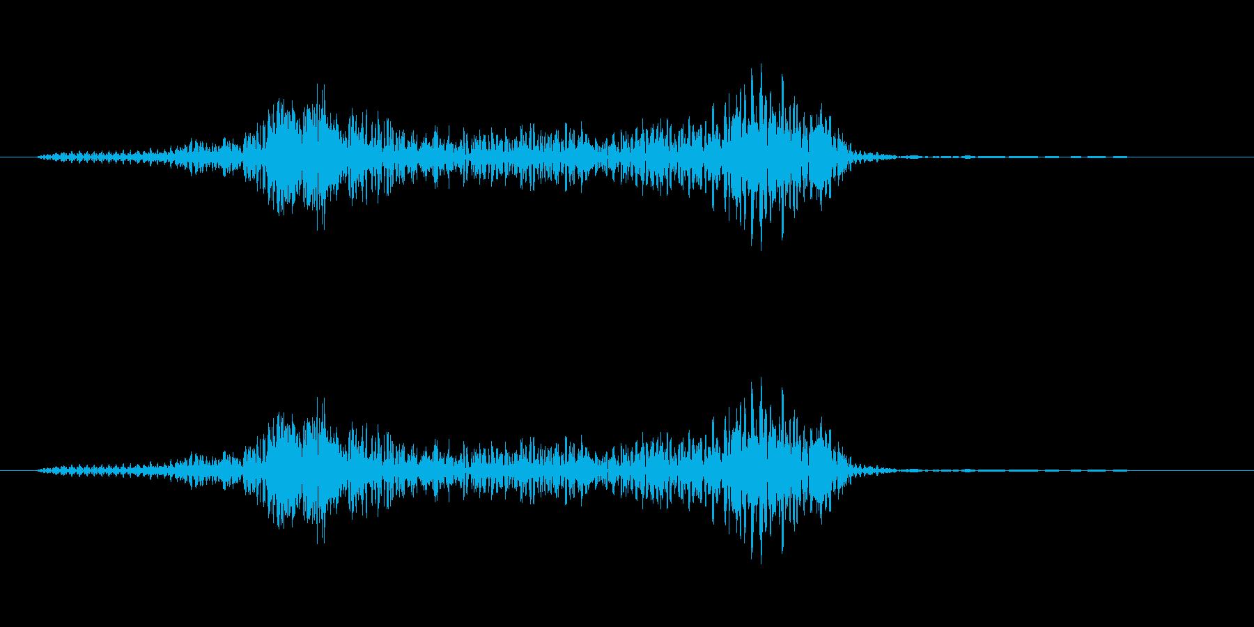 「よーっ」 (歌舞伎風)の再生済みの波形