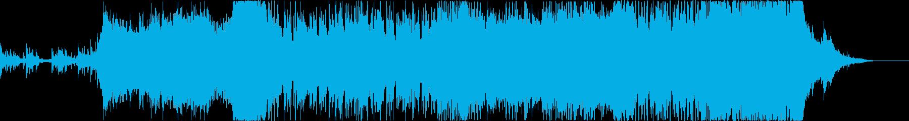 大規模映像作品推奨:ロックなオーケストラの再生済みの波形