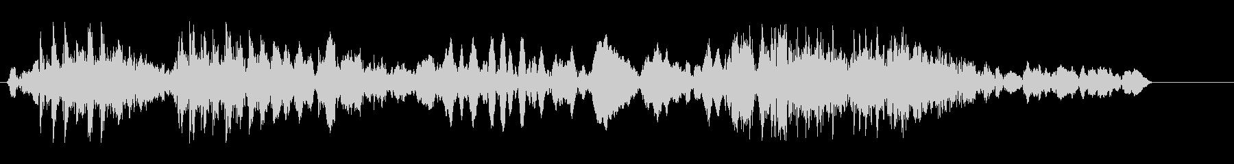 ピコングワン(ロボット)の未再生の波形