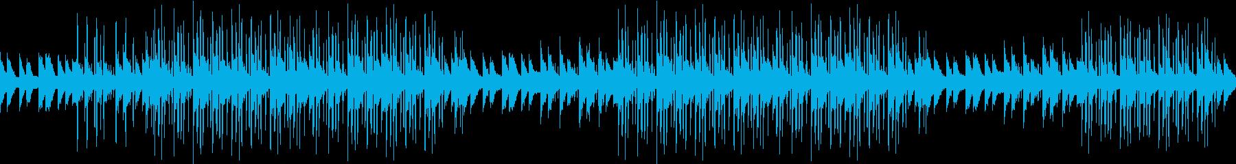 エンディング・感動・綺麗・エモ・ピアノの再生済みの波形