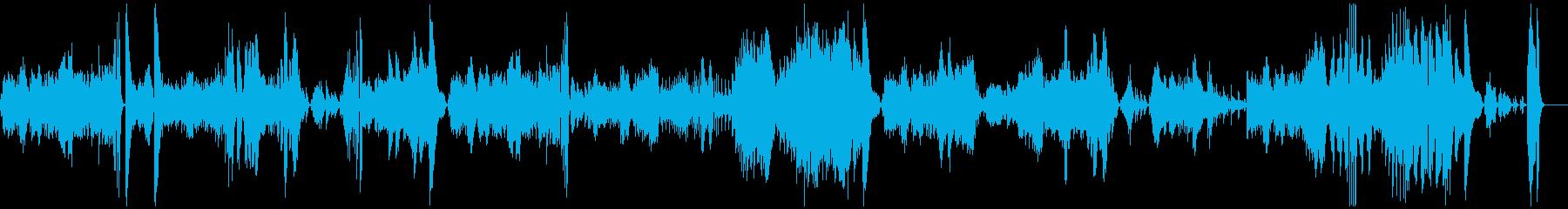ベートーヴェン 悲愴第3楽章 ピアノソロの再生済みの波形