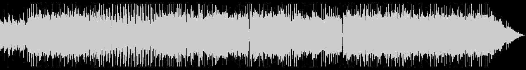キャッチーなリフが特徴のメタルの未再生の波形