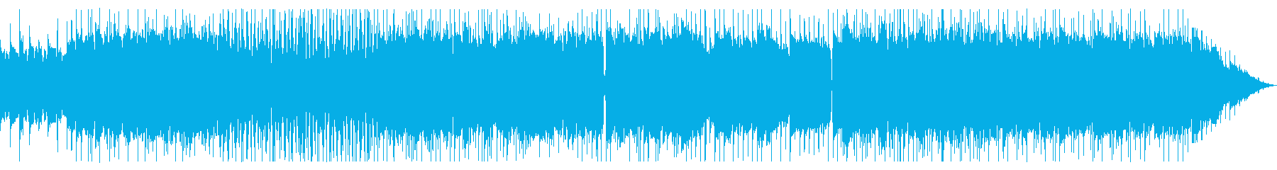 キャッチーなリフが特徴のメタルの再生済みの波形