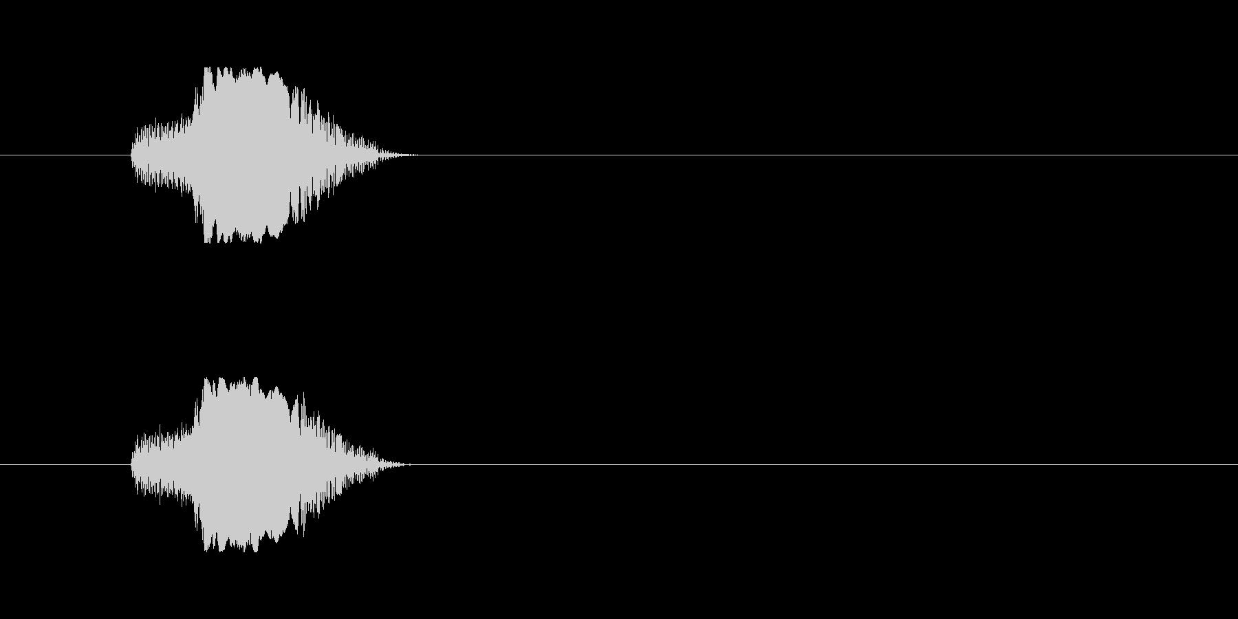 【猫 合成01-1】の未再生の波形