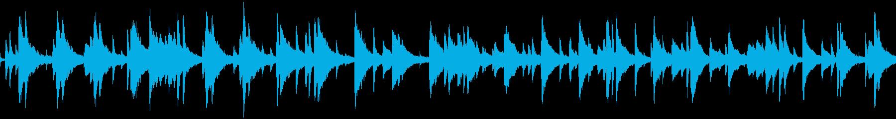 お洒落でキャッチーなジャズピアノトリオ7の再生済みの波形