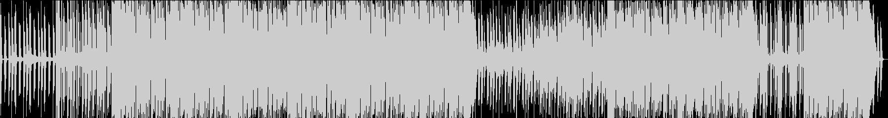 3拍子でワルツ感もあるオシャレ曲の未再生の波形