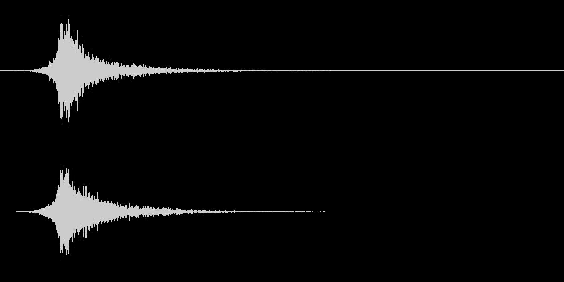 ヘビーブライトスネアドラムインパク...の未再生の波形