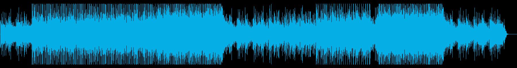 CMや映像、爽やか、アコギポップスの再生済みの波形