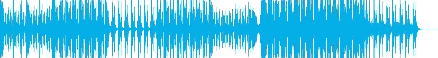 洋楽POP/ロックなリズム/アンセムの再生済みの波形