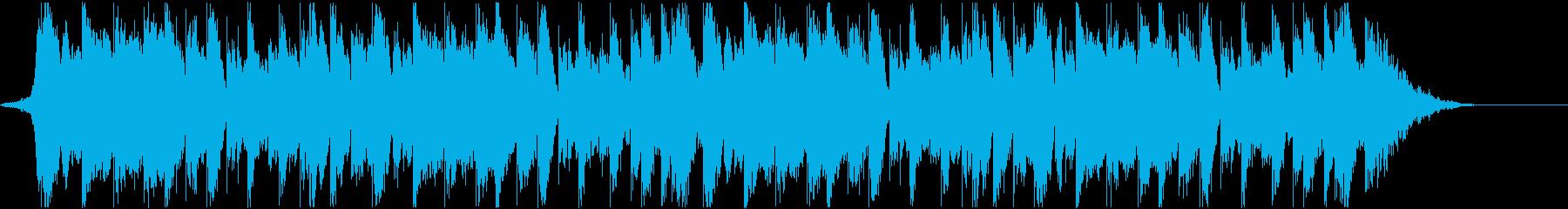 攻撃的・近代的・テクノロジーダブステップの再生済みの波形