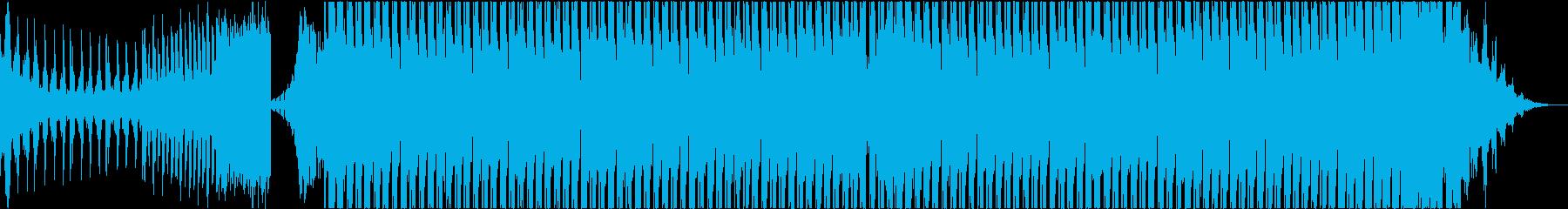 テクノ トランス アグレッシブ 前向きの再生済みの波形