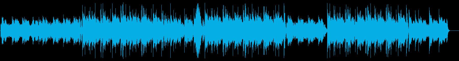 和風hip-hop(ファンタジー幻想的)の再生済みの波形