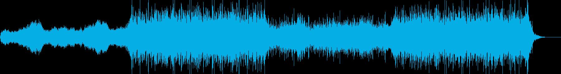 アドレナリンラッシュ音楽。劇的でエ...の再生済みの波形