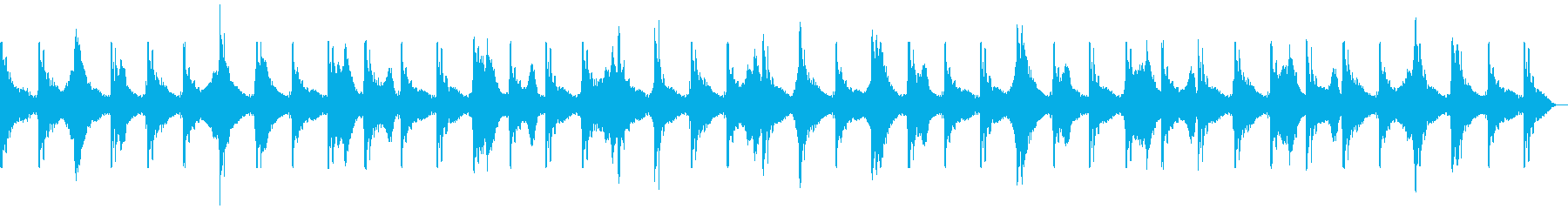 緊迫・洞窟・シリアス・SE2の再生済みの波形