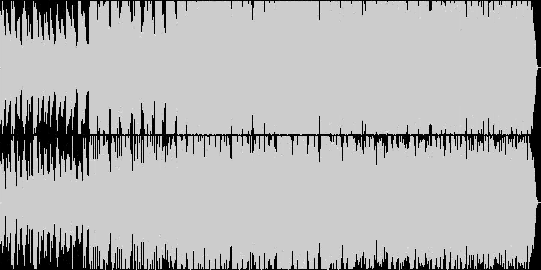 深遠な曲。の未再生の波形