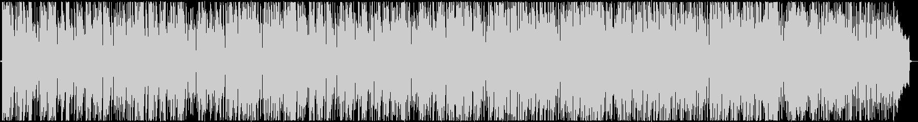 ジャズボサノバ系BGMの未再生の波形