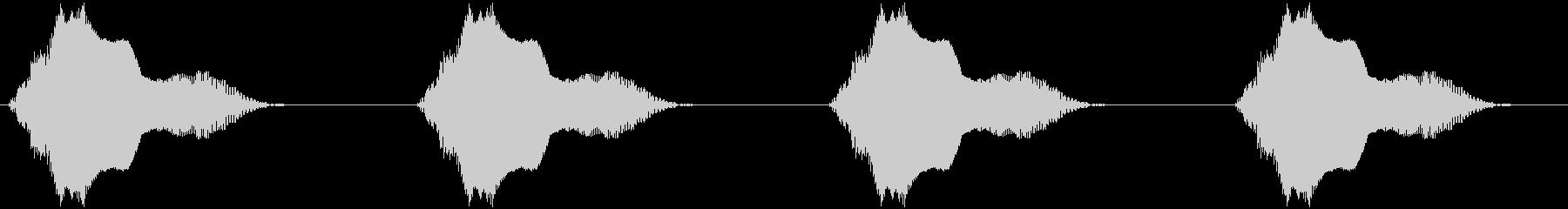 バイブ スマホ ヴィン×4 軽快の未再生の波形
