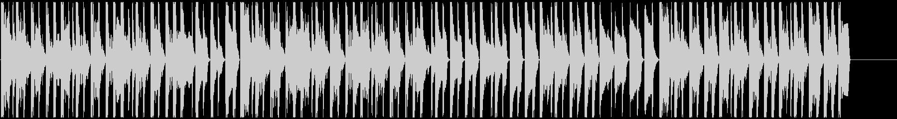 スイングミュージックとハウスビート...の未再生の波形