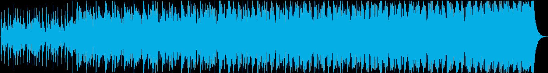 Cartoon music's reproduced waveform