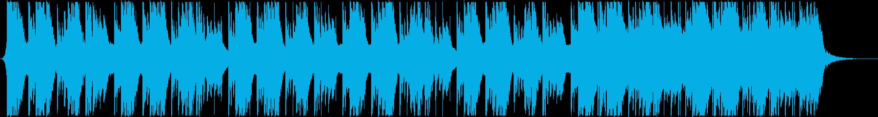 生楽器主体の幻想的なBGMニュースなどにの再生済みの波形