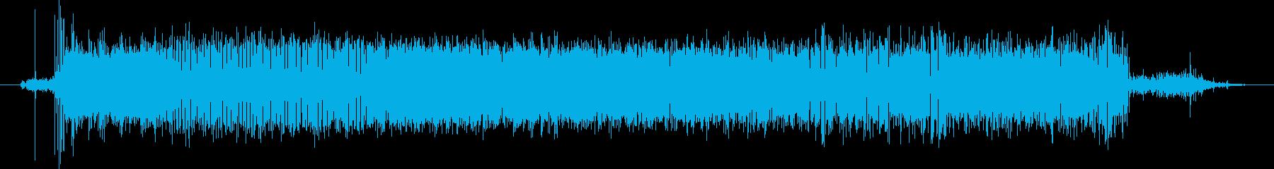 モーター サーボハムオシレートロング01の再生済みの波形