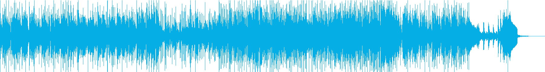 格好いいブラスセクションのファンクロックの再生済みの波形