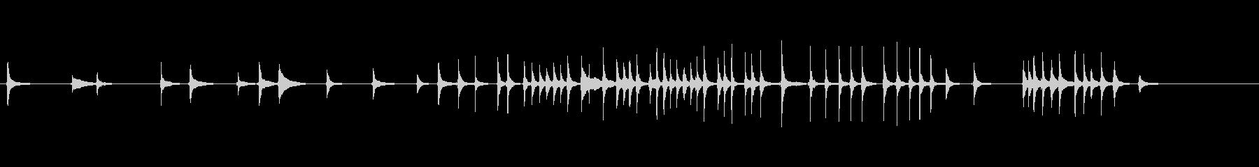 三味線39娘道成寺18日本式レビューショの未再生の波形