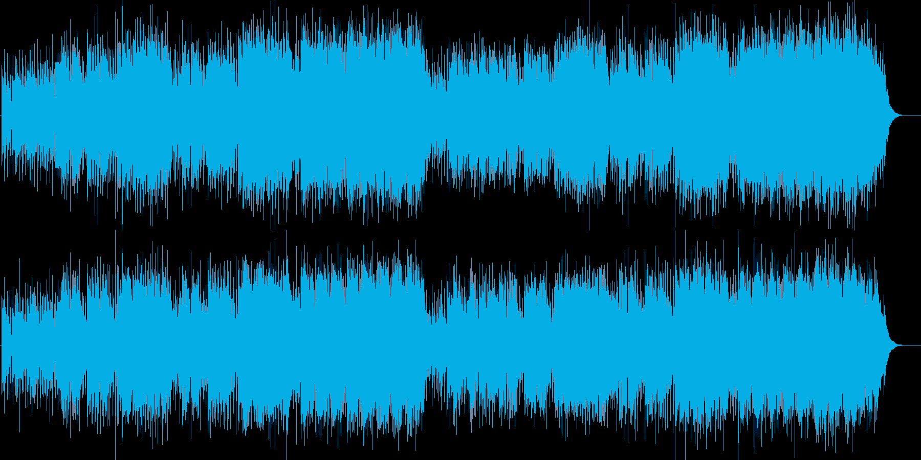 哀愁がダンディなフュージョン/BGの再生済みの波形