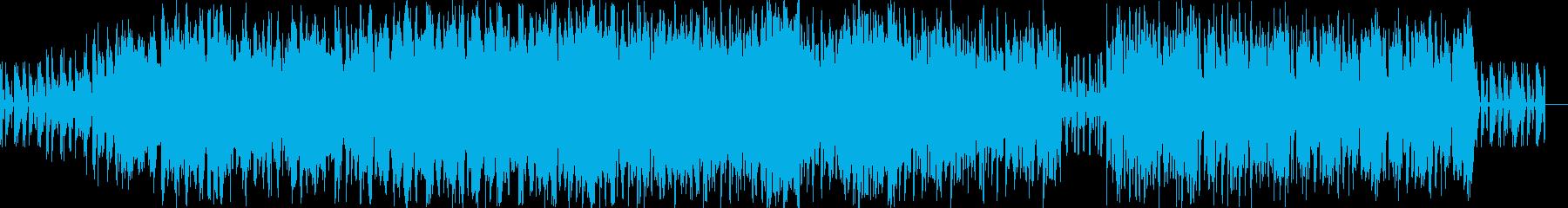 クラブBGM、DJライブBGMの再生済みの波形