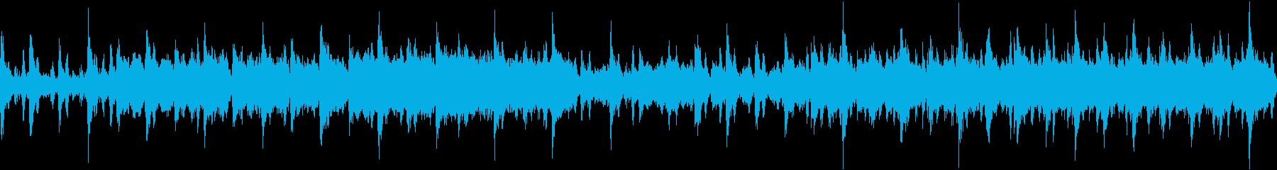 金管楽器とコーラスによる壮大な行進曲の再生済みの波形