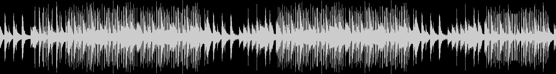 センチメンタル・悲しい・レトロ・ピアノの未再生の波形