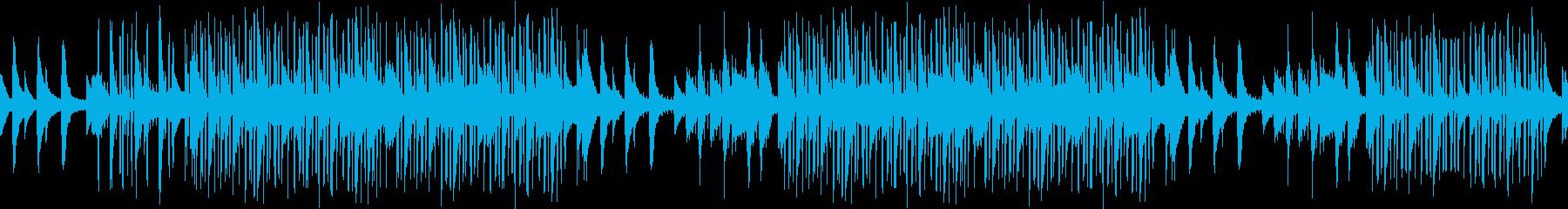 センチメンタル・悲しい・レトロ・ピアノの再生済みの波形