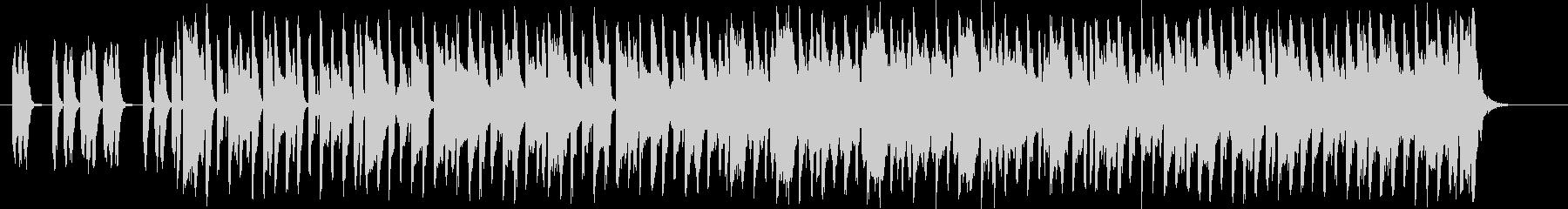 木琴が印象的なミディアムテンポのポップスの未再生の波形