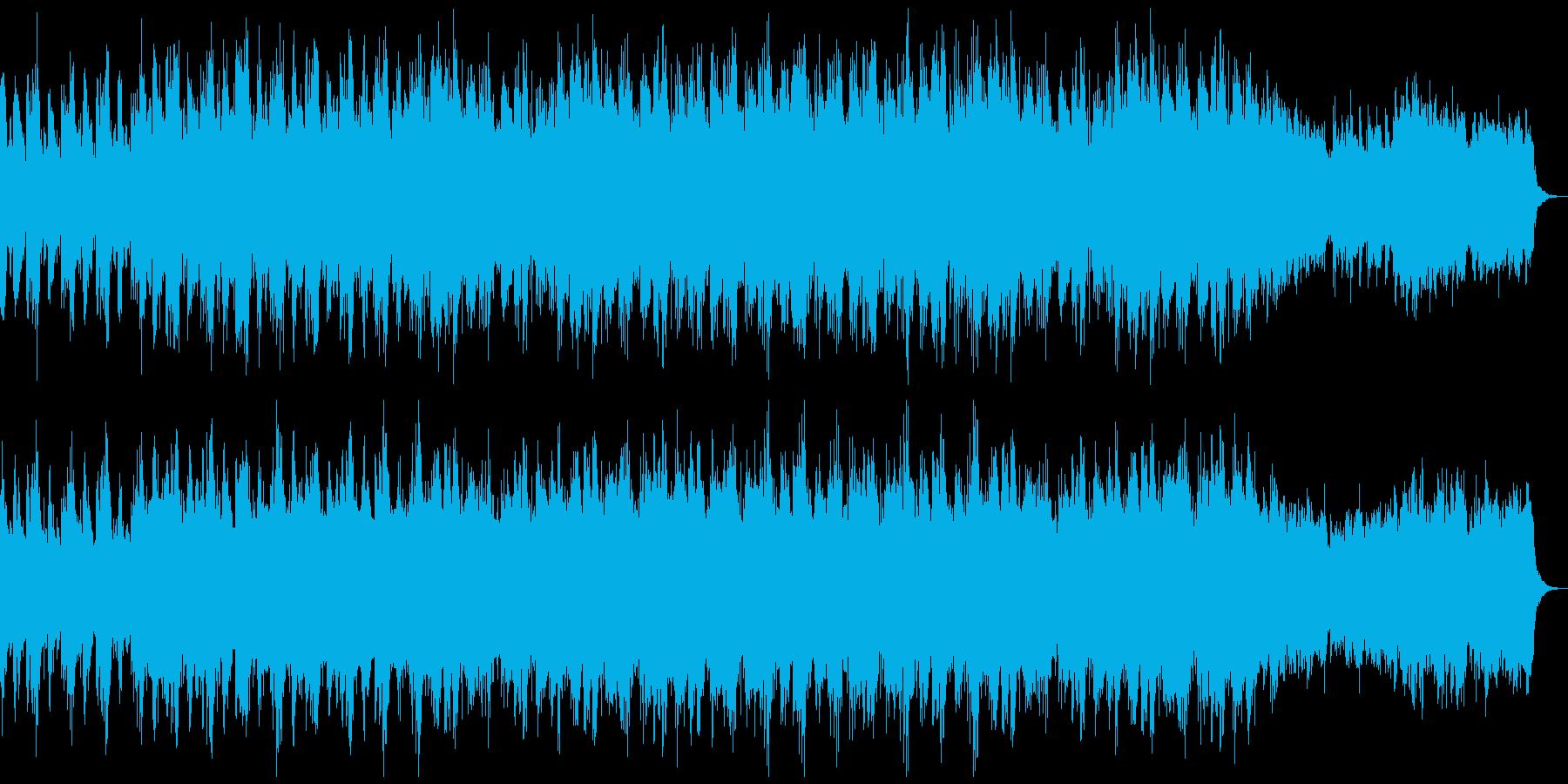 ダンジョン、迷宮など威厳あるオーケストラの再生済みの波形
