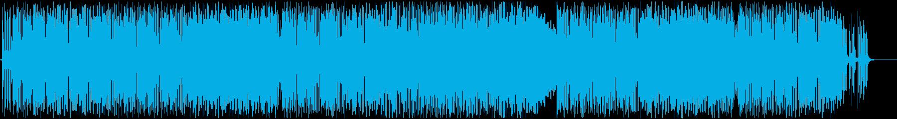 サックスとギターバンドのチル、Lo-fiの再生済みの波形