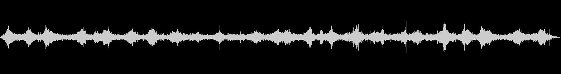 海 波 浜辺 海岸 カモメの環境音 19の未再生の波形