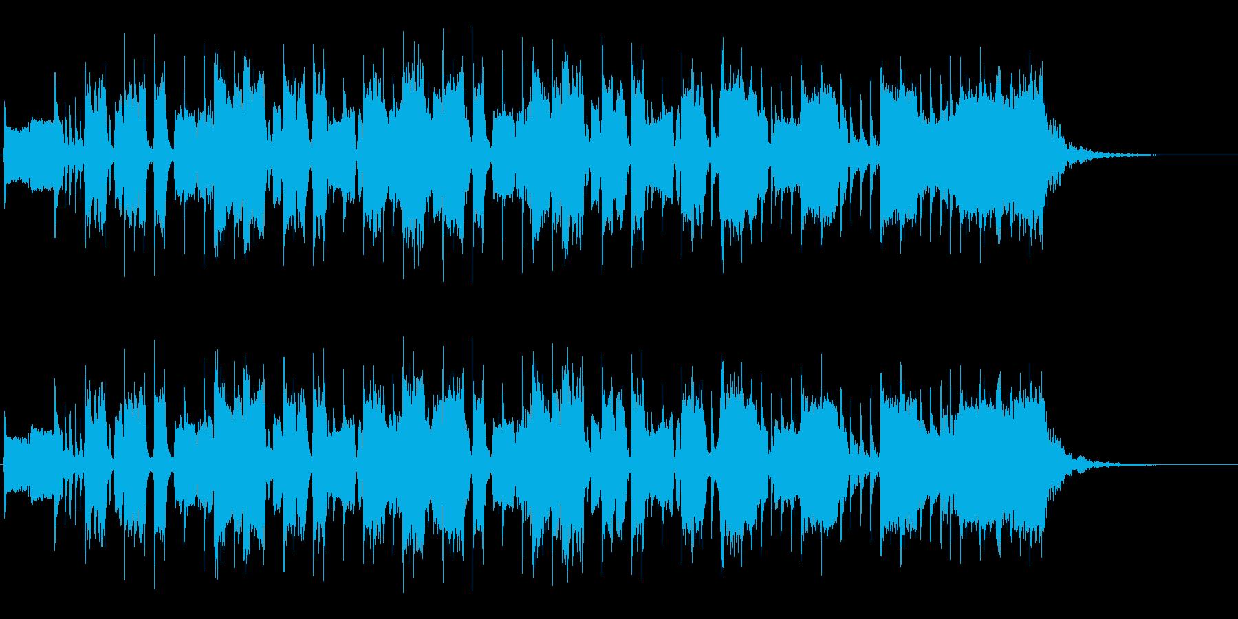 ファンキーなギターインスト/CMサイズの再生済みの波形