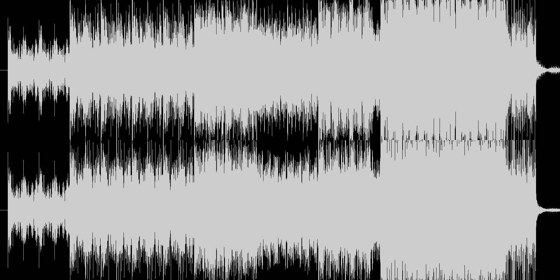 デジタルサウンドシリーズ 第5弾です。の未再生の波形