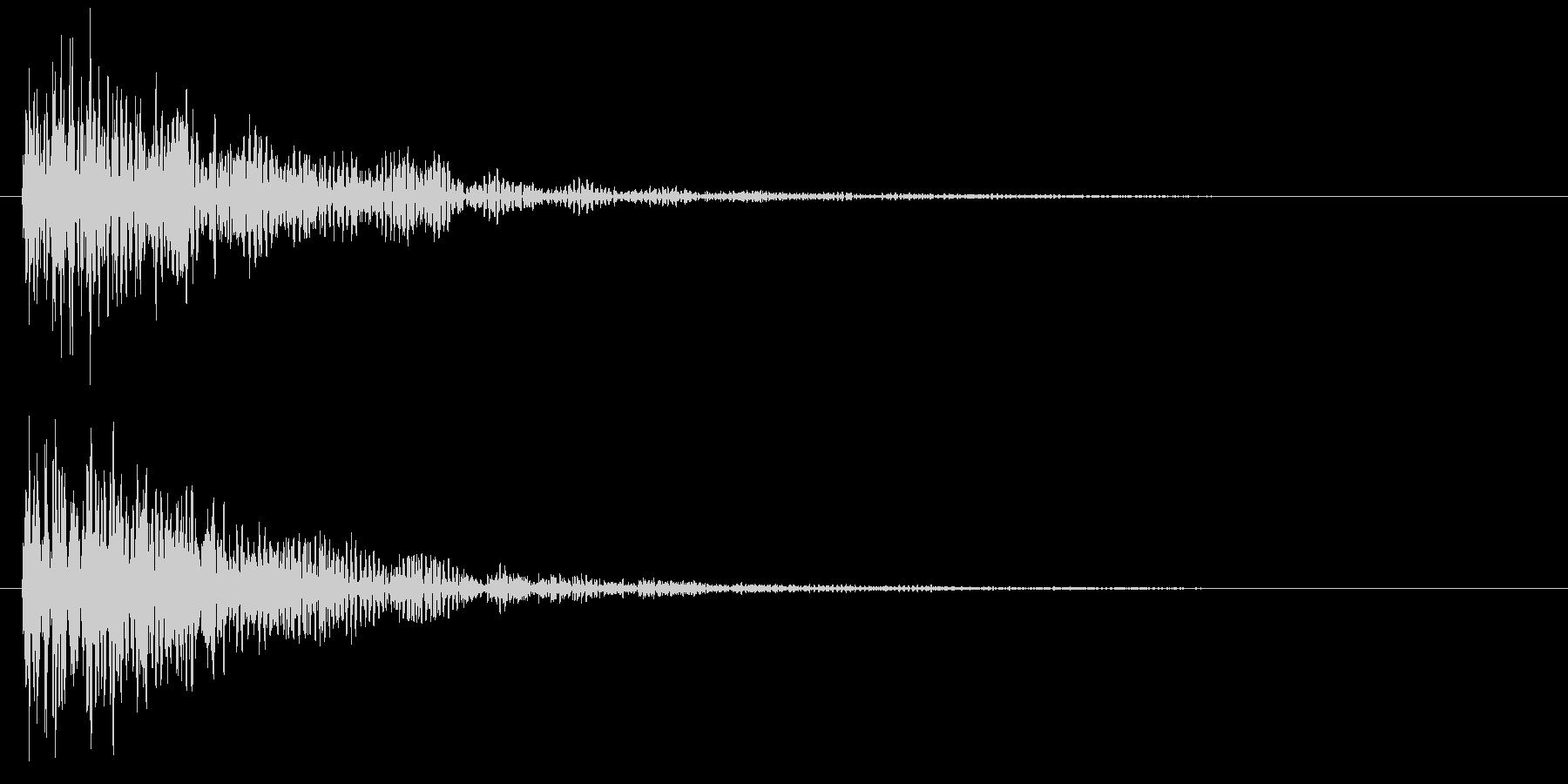 ダーン(映画予告・低音・衝撃・特報など)の未再生の波形
